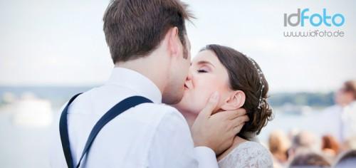 Hochzeitsfotografie Flyer ID Foto