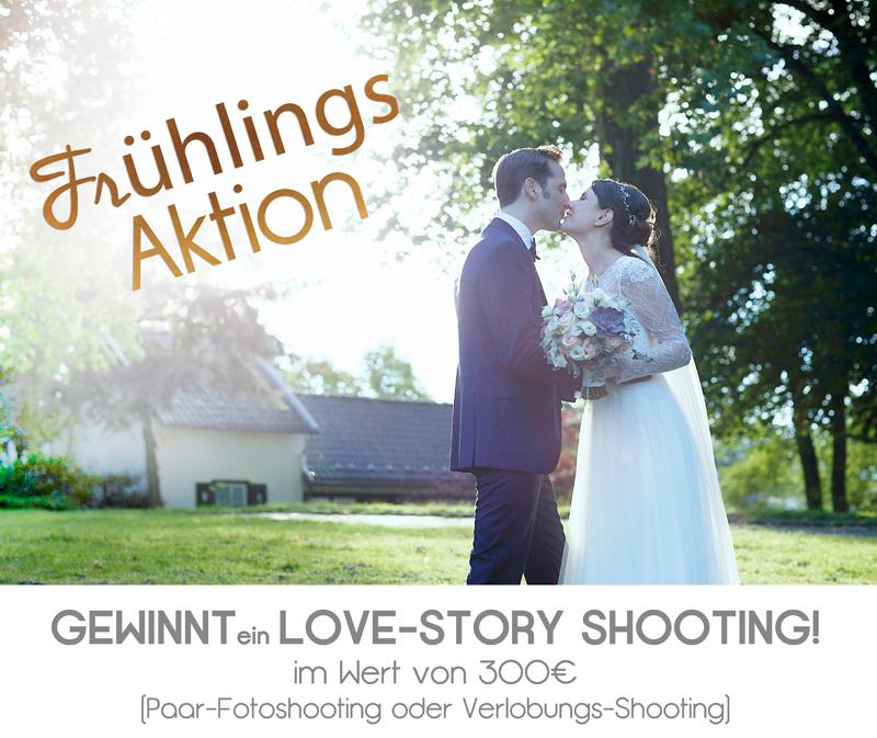 Frühlings Aktion – Gewinnt ein Love-Story Shooting