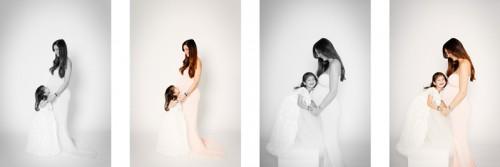 Babybauch-Shooting mit Dewi