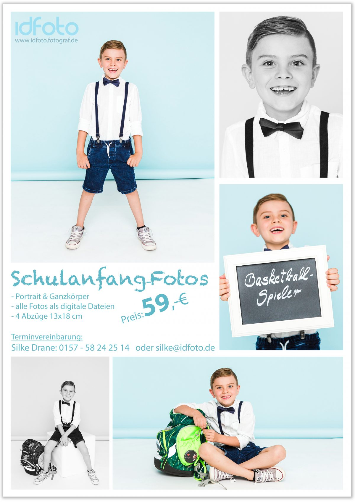 EINSCHULUNGS-FOTOSHOOTING